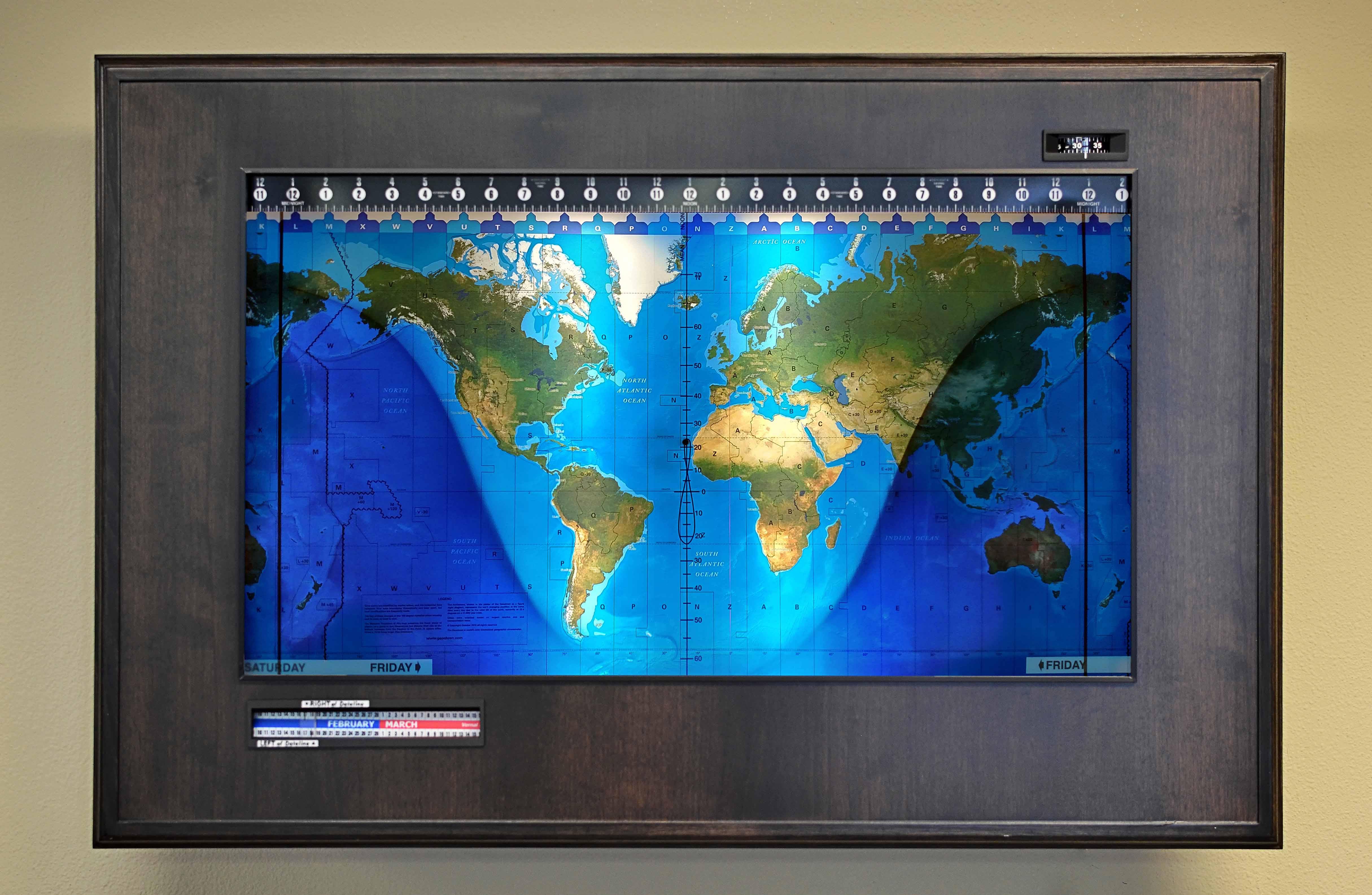 Topographical Boardroom Alder-black web