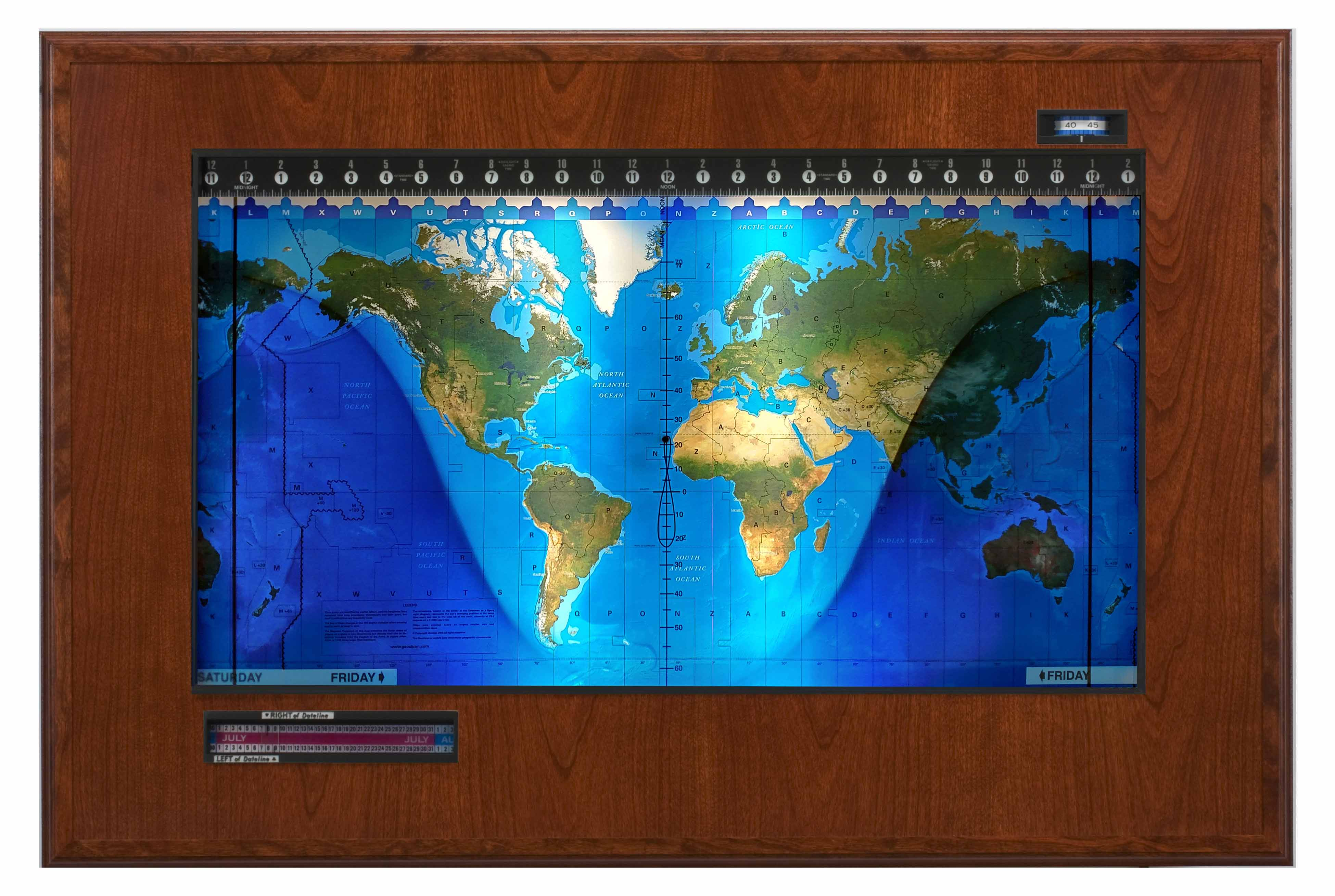 Topographical Boardroom Cherry-black web