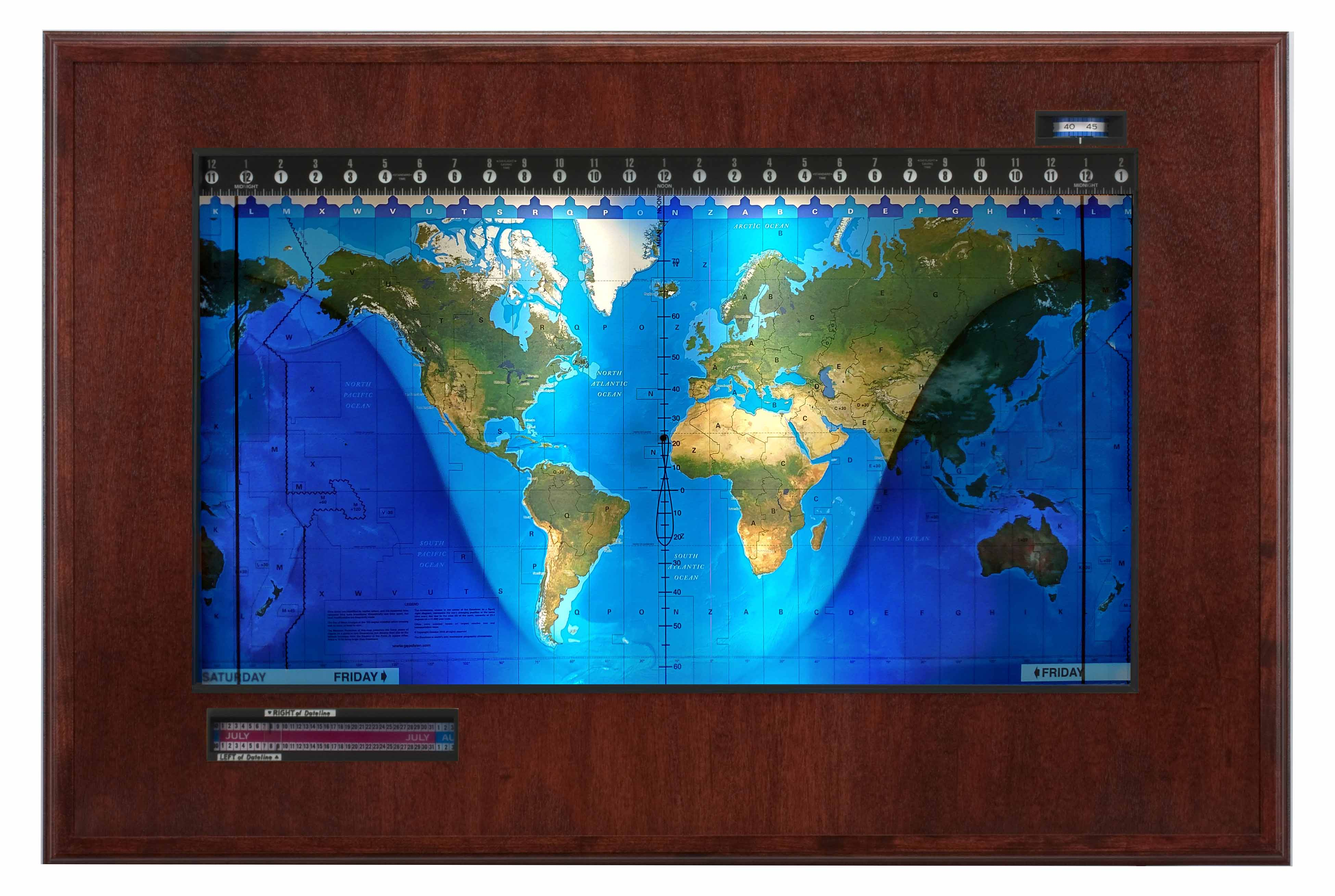 Topographical Boardroom Mahogany-black web