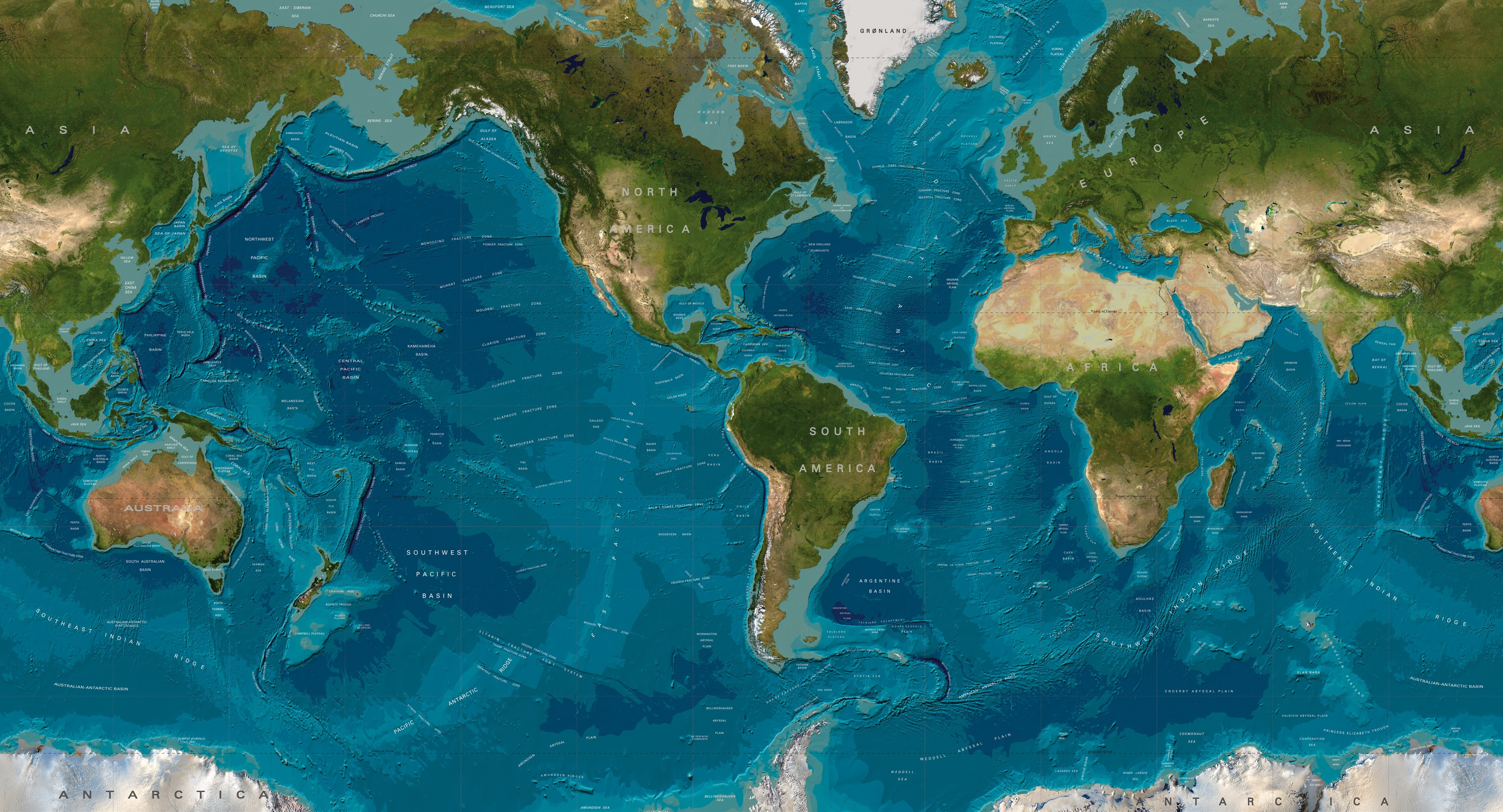 Geopolitical or Topographical Geochron