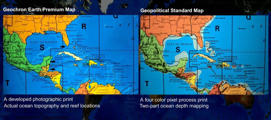 Earth comparison - Carribean - web