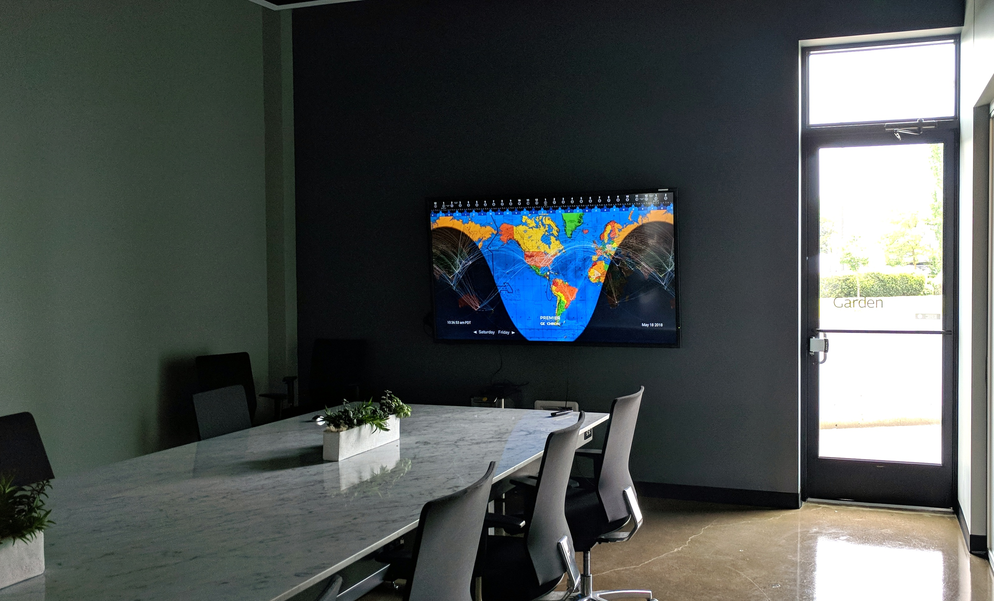 4k Digital in a corporate boardroom